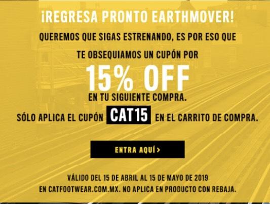 15% en tienda CAT online