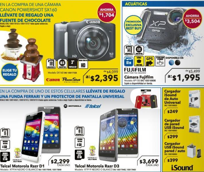 """Best Buy: pantalla Samsung 40"""" LED 3D $7,995, memoria USB 64GB $495 y más"""