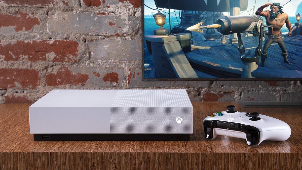 Xbox: Nuevo Xbox One S Digital