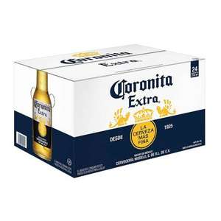 Sam's Club: Cerveza Clara Coronita Extra Extra 24 pzas de 210 ml