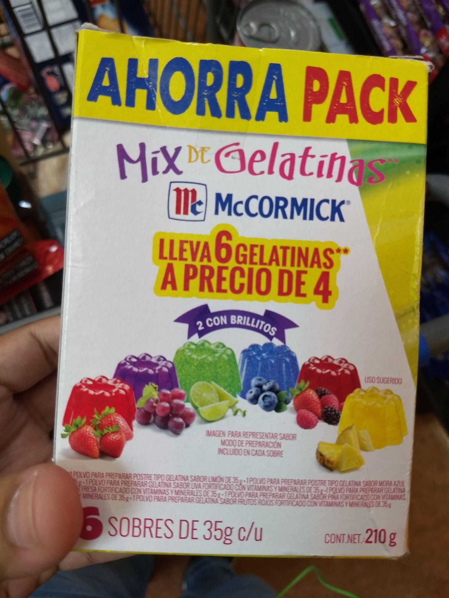 Walmart: unicornio caja de gelatinas mccormick gratis (con mini relato) y más liquidaciones ya publicadas