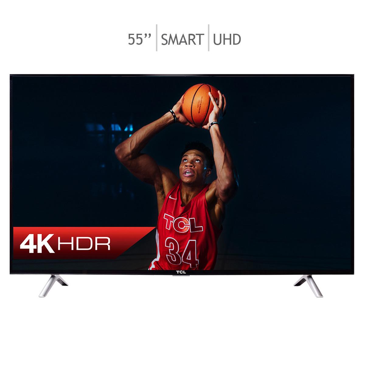 "Costco: TCL Smart TV 55"" UHD 4K"