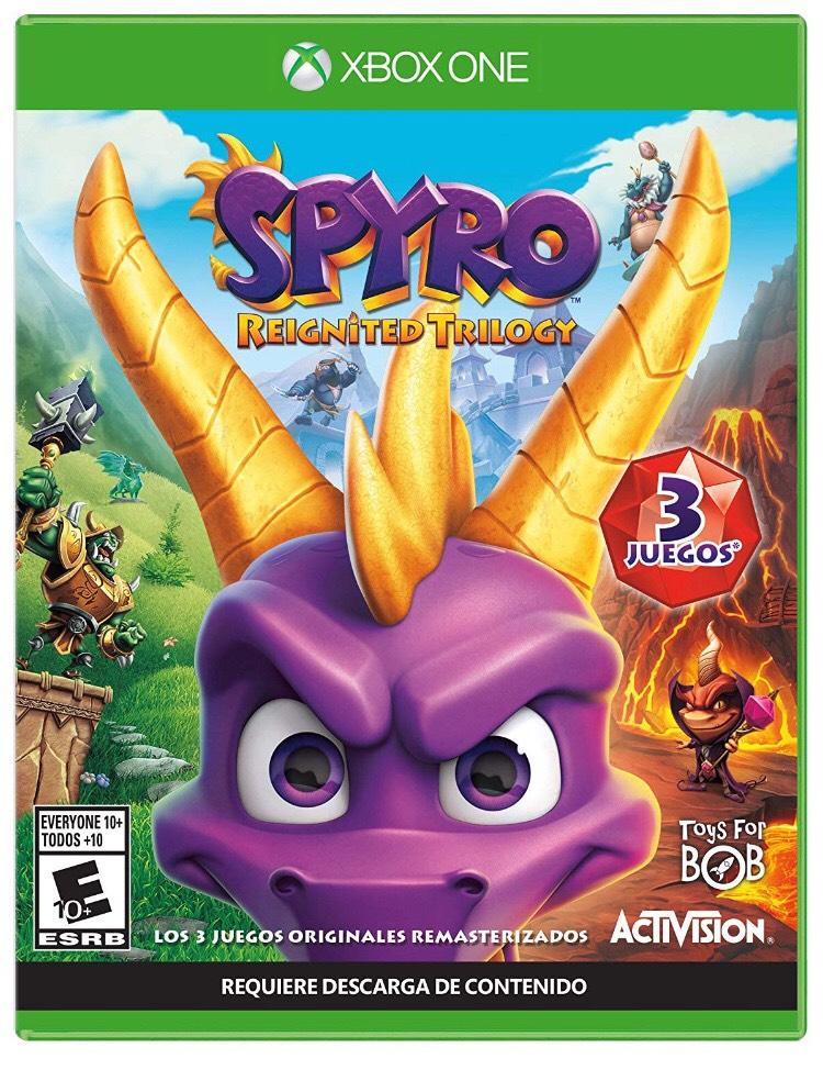 Amazon y Walmart: Spyro Trilogy