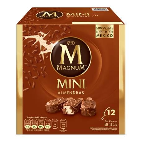 Sam's Club: Paleta Magnum Almendras Mini 12 pzas