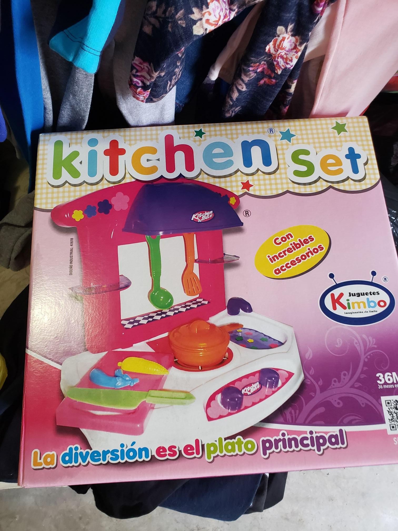 Bodega Aurrerá: juguete cocina kimbo en $92.01