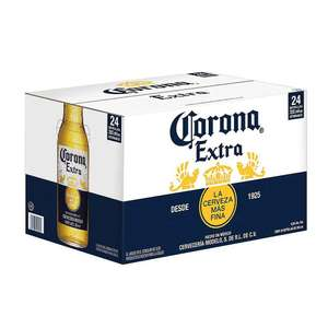 Sam's Club: Cerveza Clara Corona Extra 24 pzas de 355 ml Y corona Light