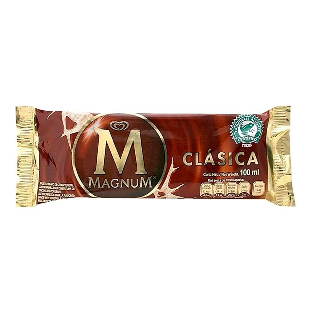 Walmart:Paleta helada Holanda Magnum clásica 100 ml Y Paleta helada Holanda Magnum almendras 100 ml