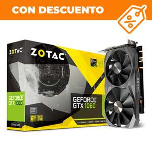 Ddtech: Tarjeta de video NVIDIA GeForce GTX 1060 6GB Zotac