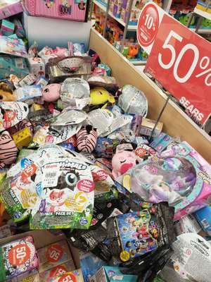 Sears Forum Buenavista 50% en Hatchimals, Shopkins, Etc. Más 10% con revolvente