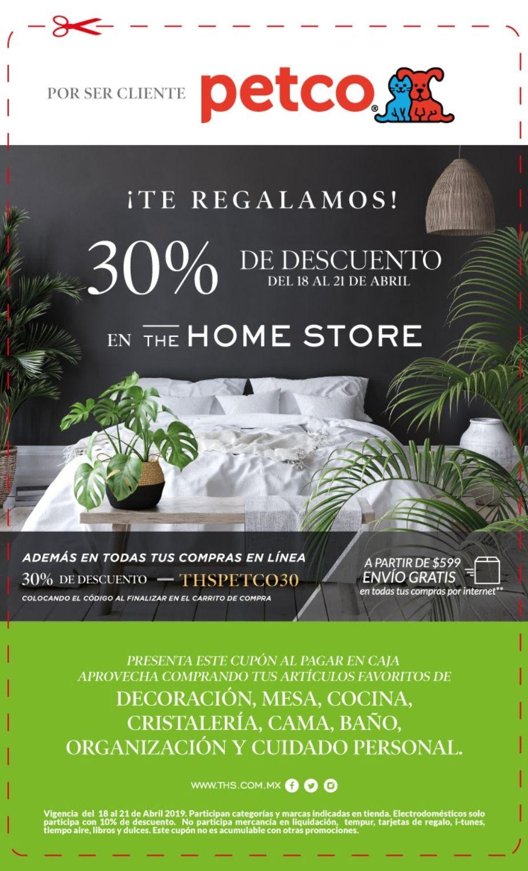 The Home Store: 30% en tienda y en linea
