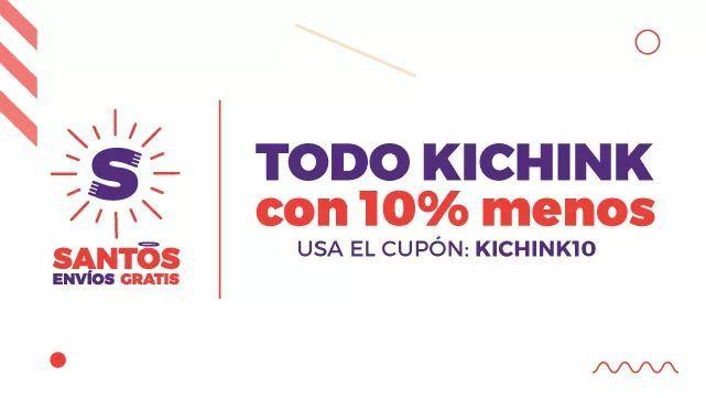 Kichink: 10% de descuento en toda la tienda