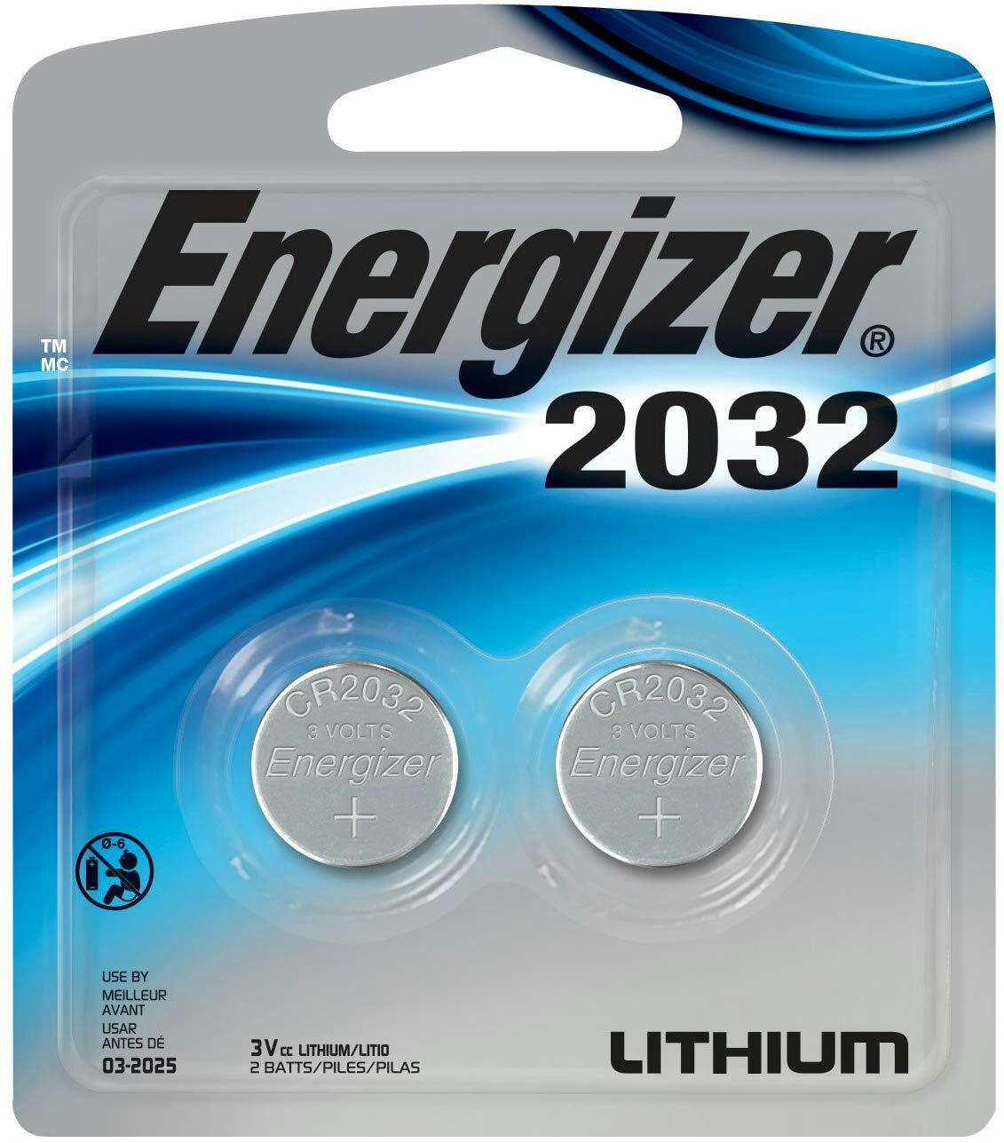 Amazon: Baterías Energizer 2032