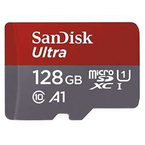 Amazon MX: Memoria Micro SD Sandisk Ultra 128GB super buen precio vendida por amazon mx