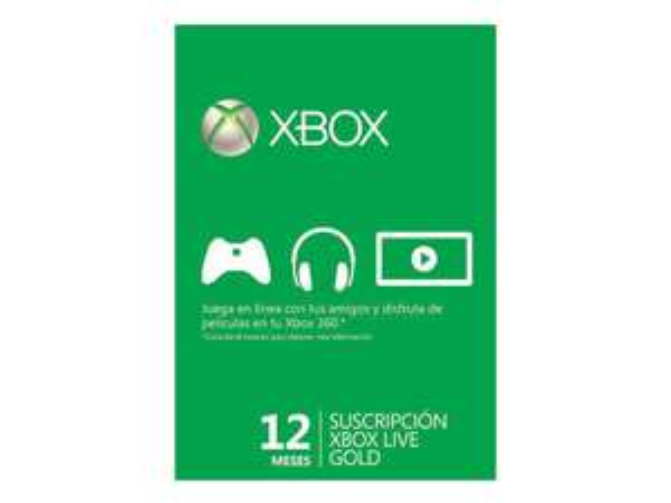 Liverpool: Xbox Live Gold 12 Meses a tan solo $447