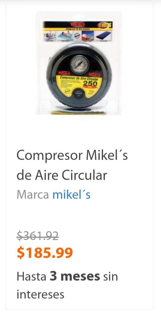Walmart: Compresor de aire a mitad de precio