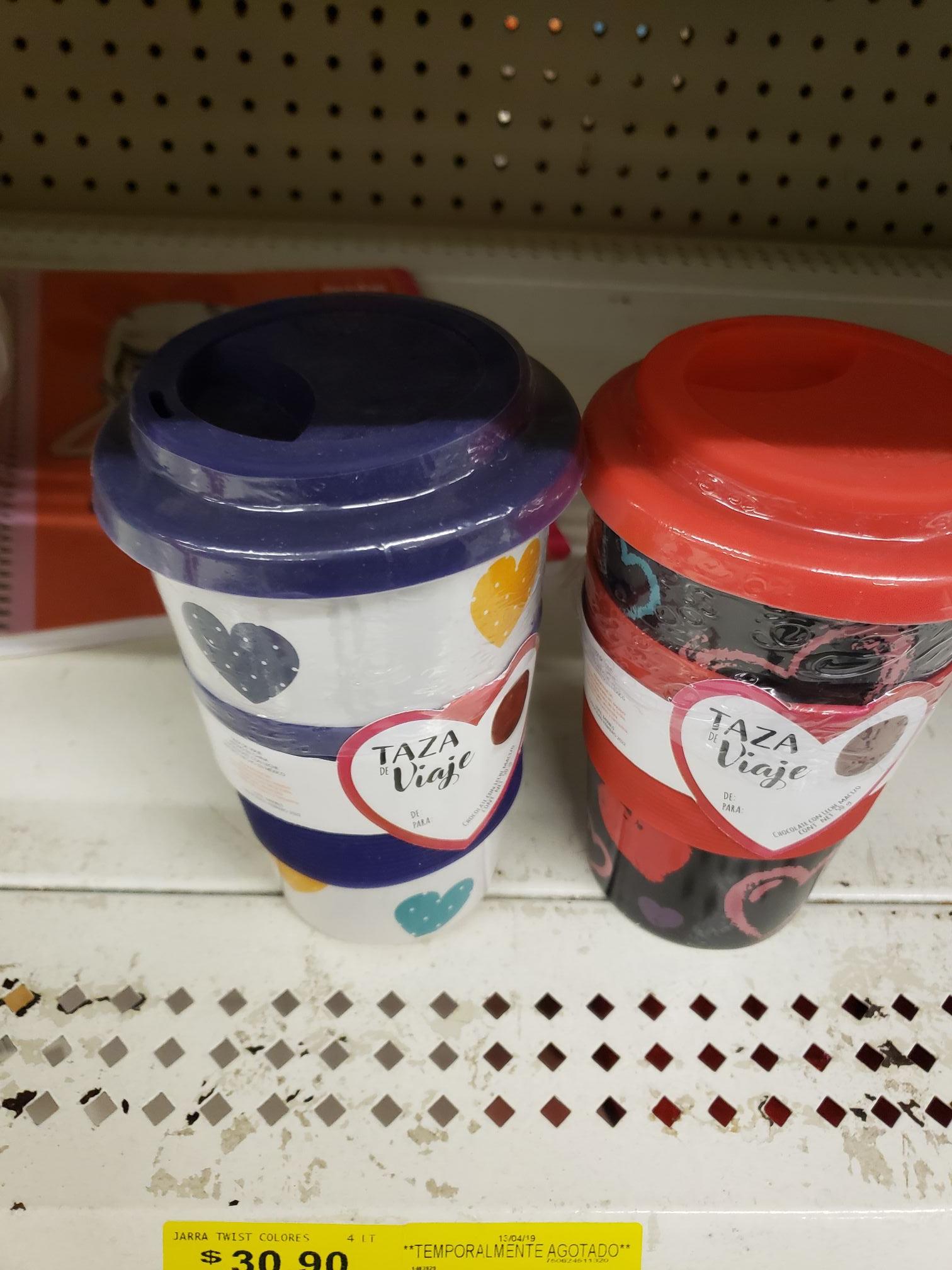 Walmart: taza de viaje con chocolate en $ 29.01
