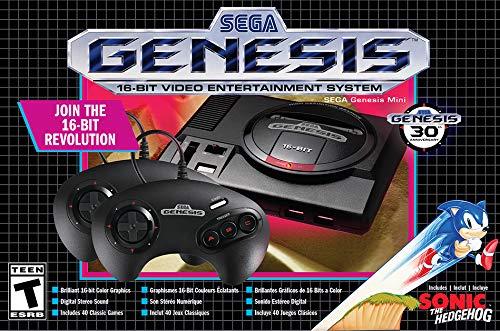 Amazon Preventa Consola Sega Genesis Mini Classics Edition