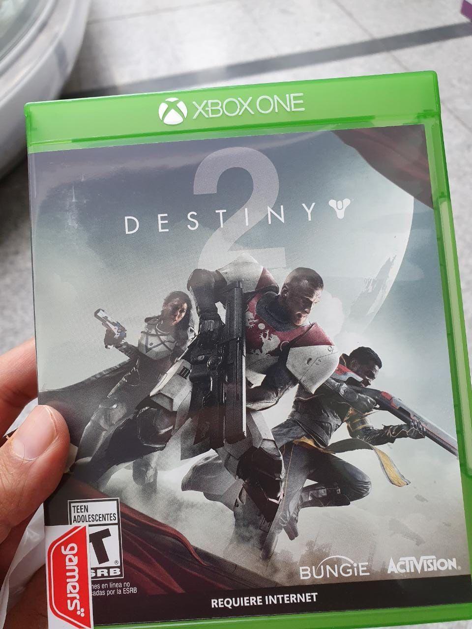 Gamers Destiny 2 (Juego Físico) a 50 pesos!