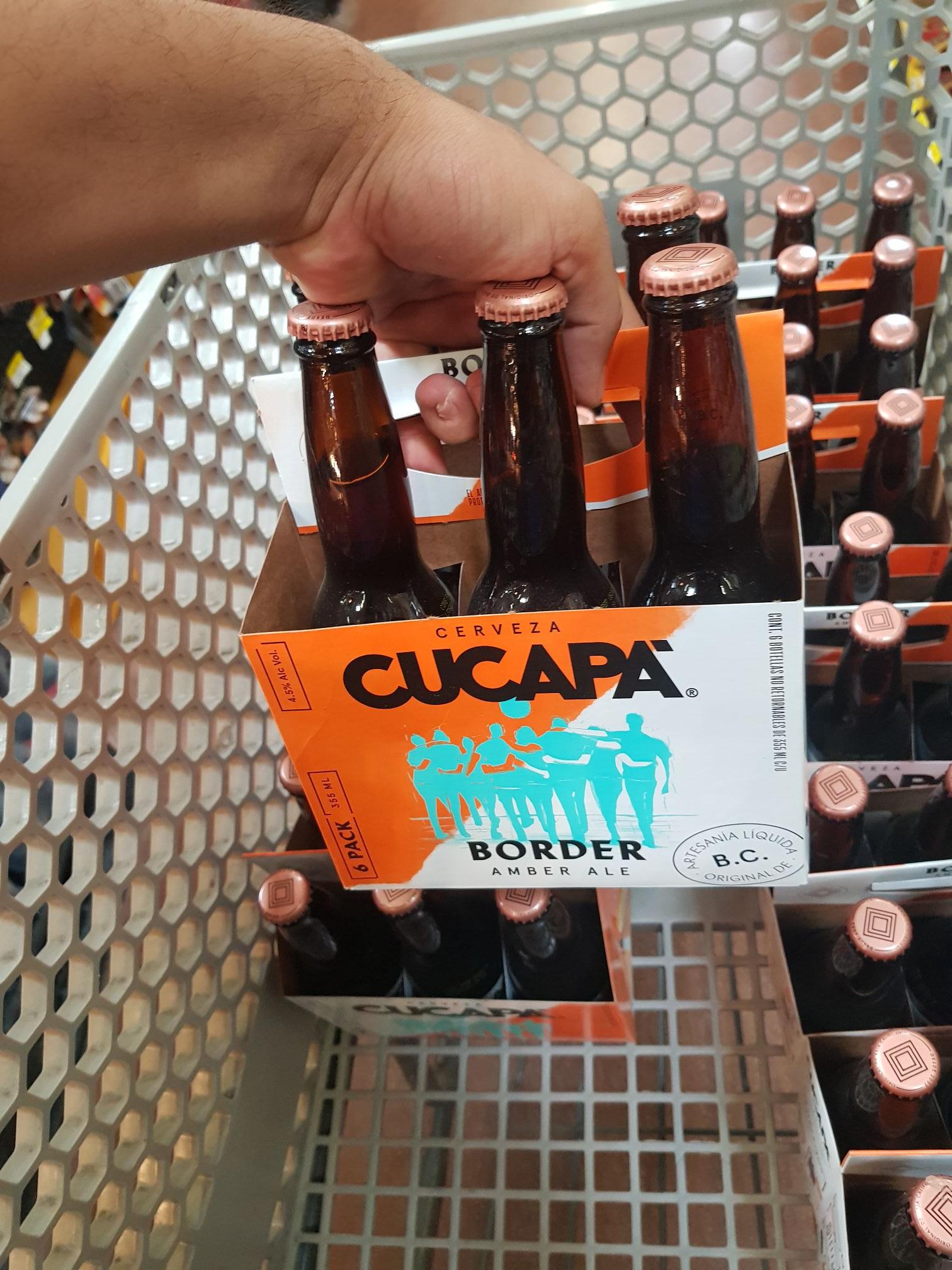 Walmart: Cerveza Cucapá Amber Ale