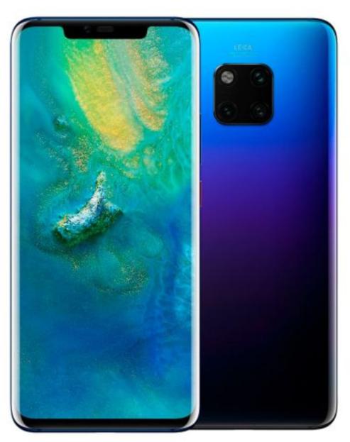 Doto: Huawei Mate 20 Pro 128 GB 6 RAM Twilight (Con cupón)