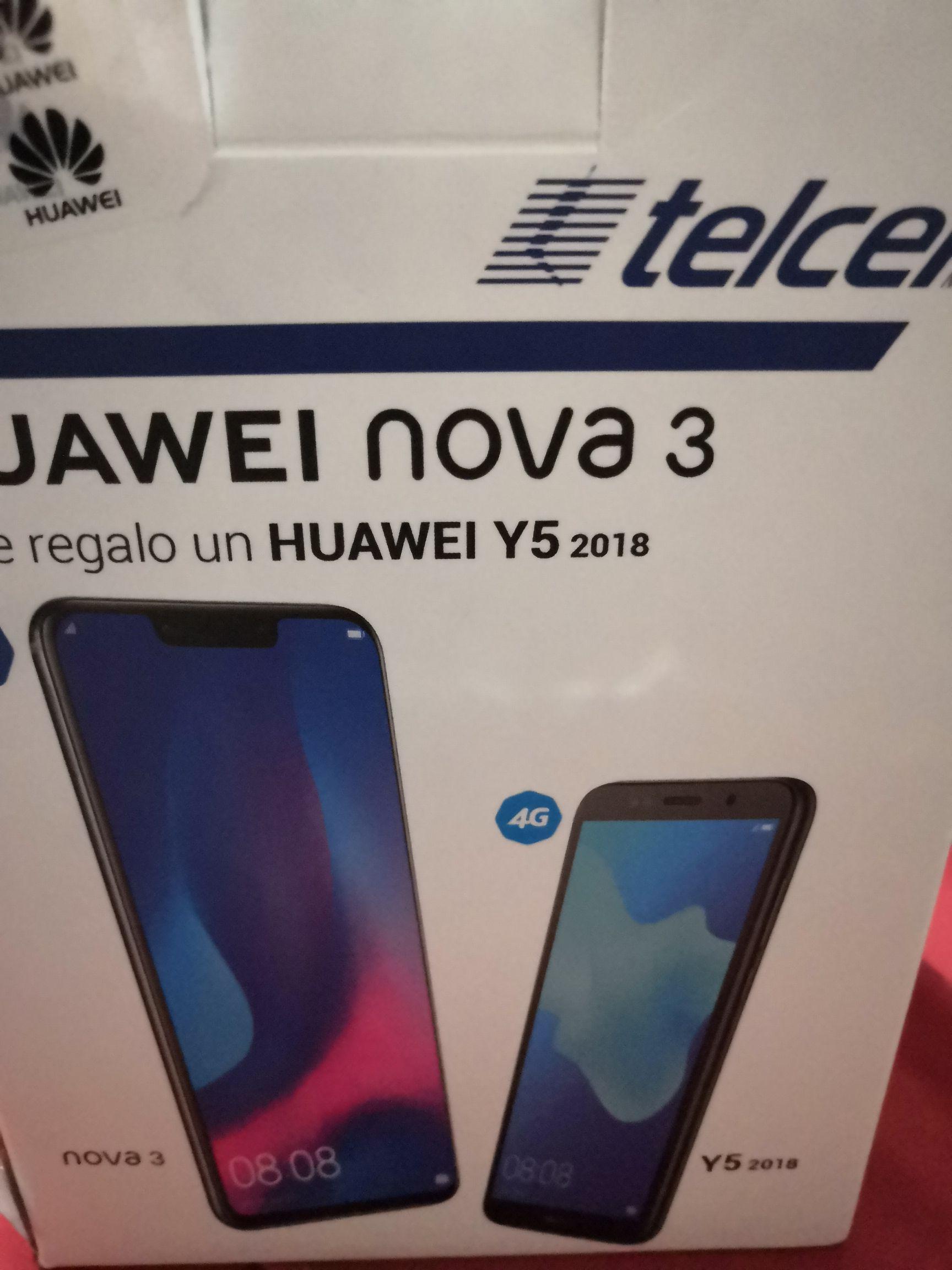 Telcel Oblatos Guadalajara: Huawei Nova 3 mas Y5 2018 de regalo en plan de $249 a plazo de 18 meses