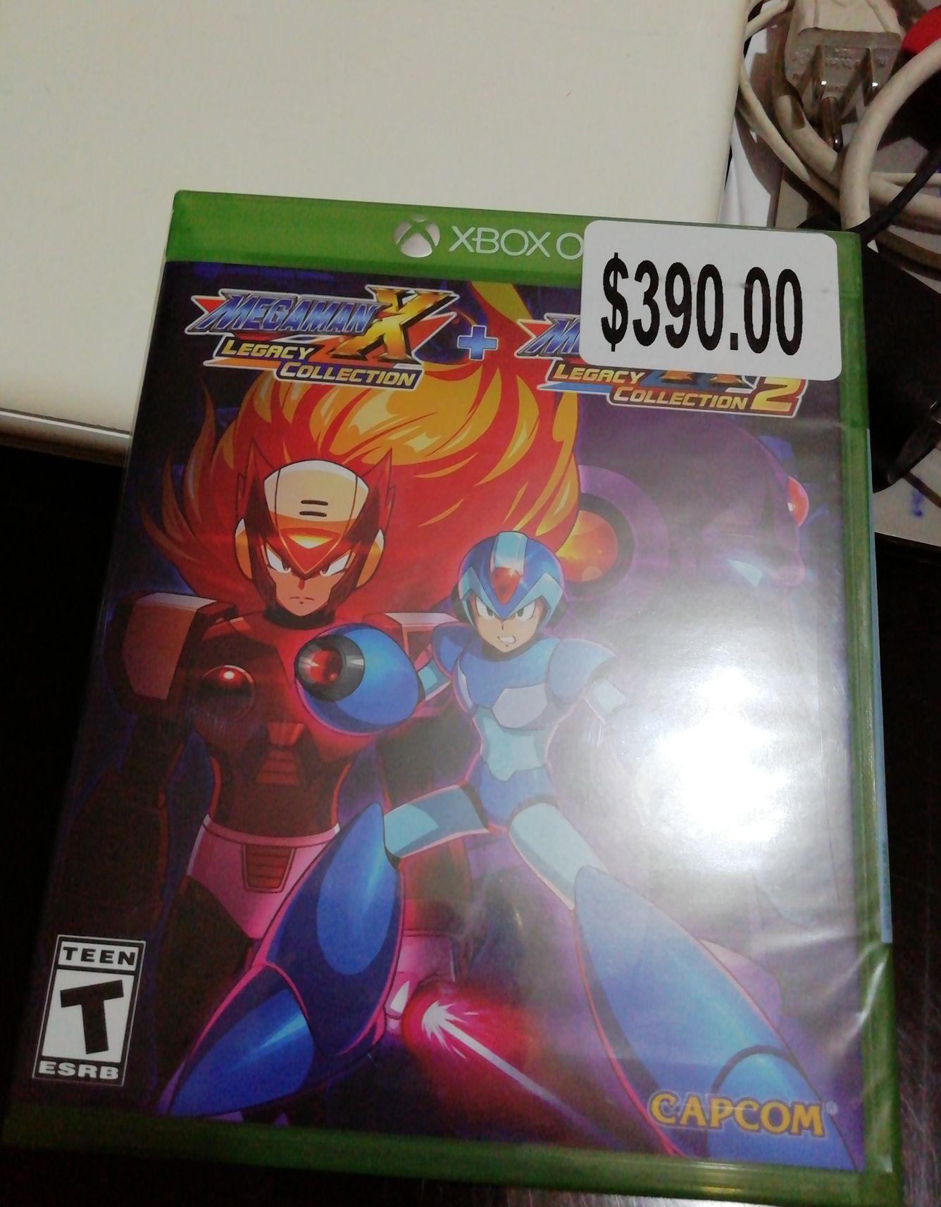 Bodega Aurrera: Megaman X Legacy Colection 1 y 2