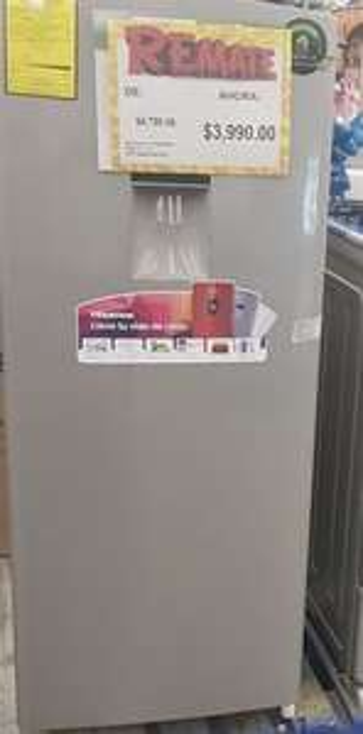 Bodega Aurrera: Refrigerador hiense 7 pies