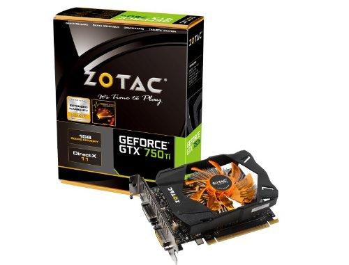 Amazon: tarjeta gráfica Nvidia GTX 750TI Zotac