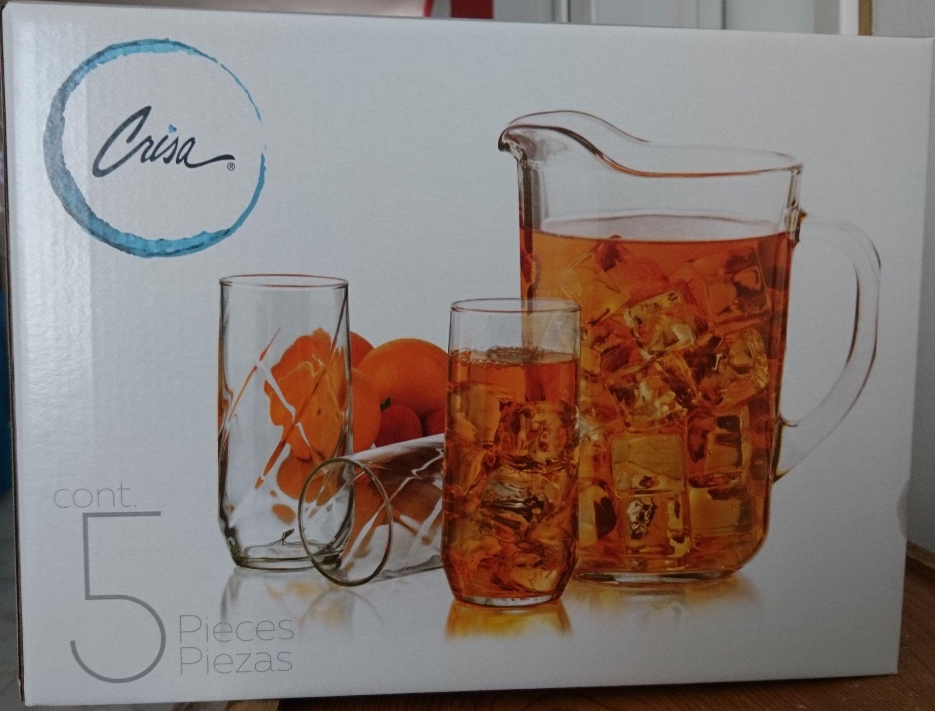 Walmart: Juego de vasos Crisa