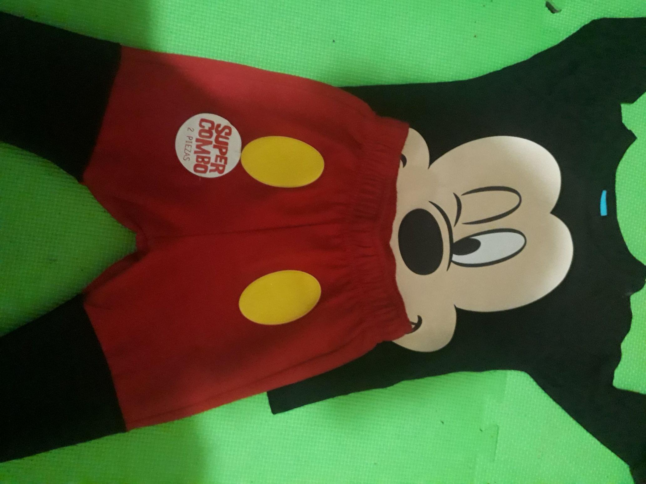 Walmart: Conjunto para niño de Mickey