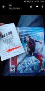 Sears: Mirrors Edge Catalyst para PS4