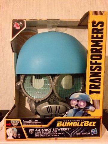 Liverpool Gran Plaza Guadalajara: Transformers Bumblebee Autobot Sqweeks Mascara Electronica
