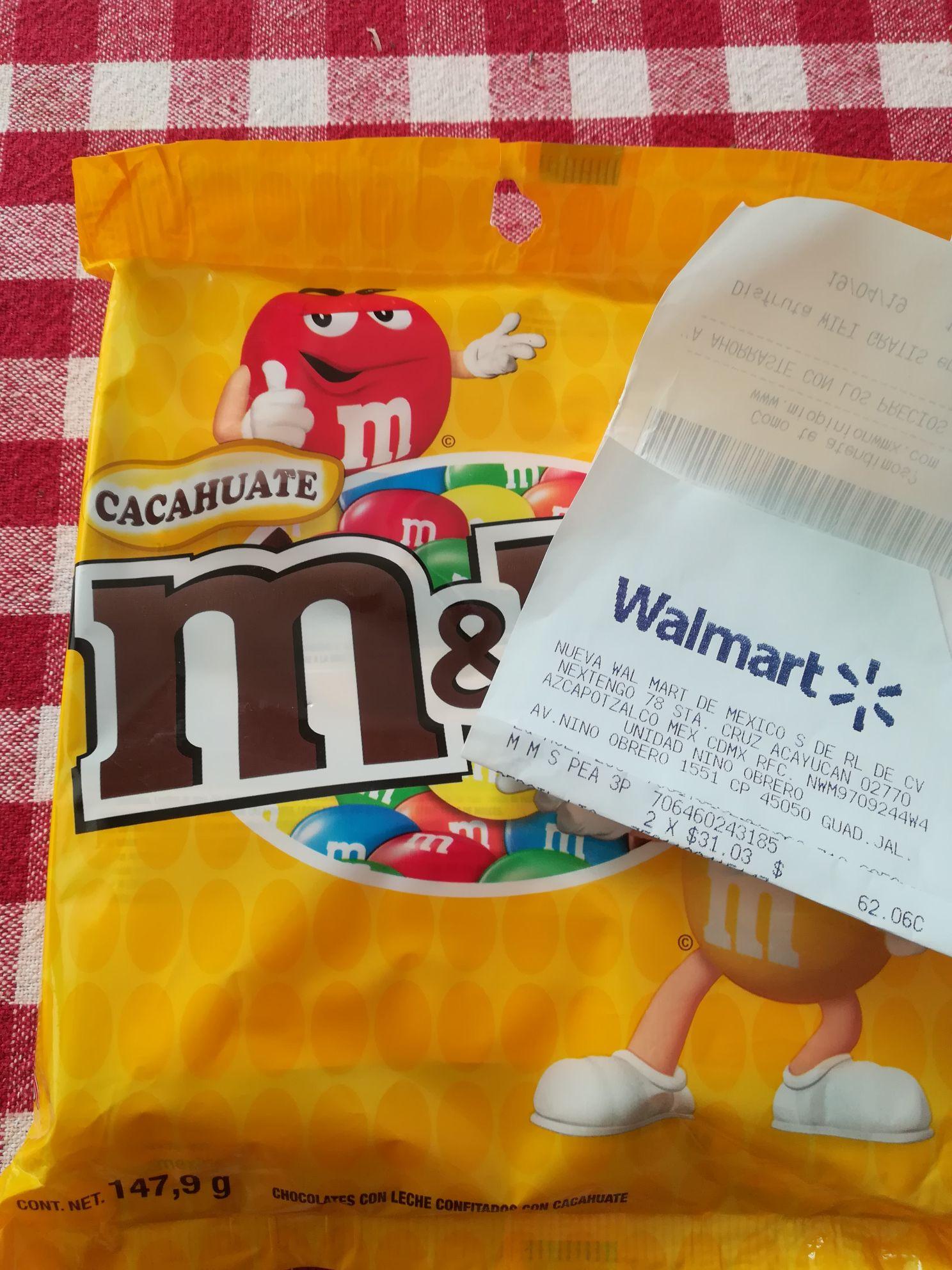 Walmart: M&M 3 pack