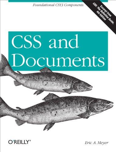 Amazon Kindle: CSS and Documents (English Edition)