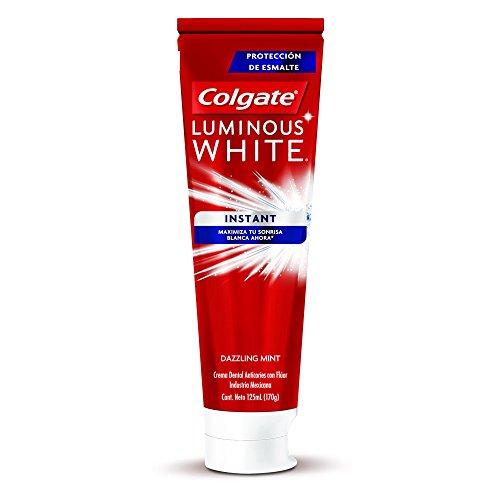 Amazon MX: Pasta Dental Colgate Luminous White Instant Blanqueadora 125 ML (compra mínima de 4 unidades)