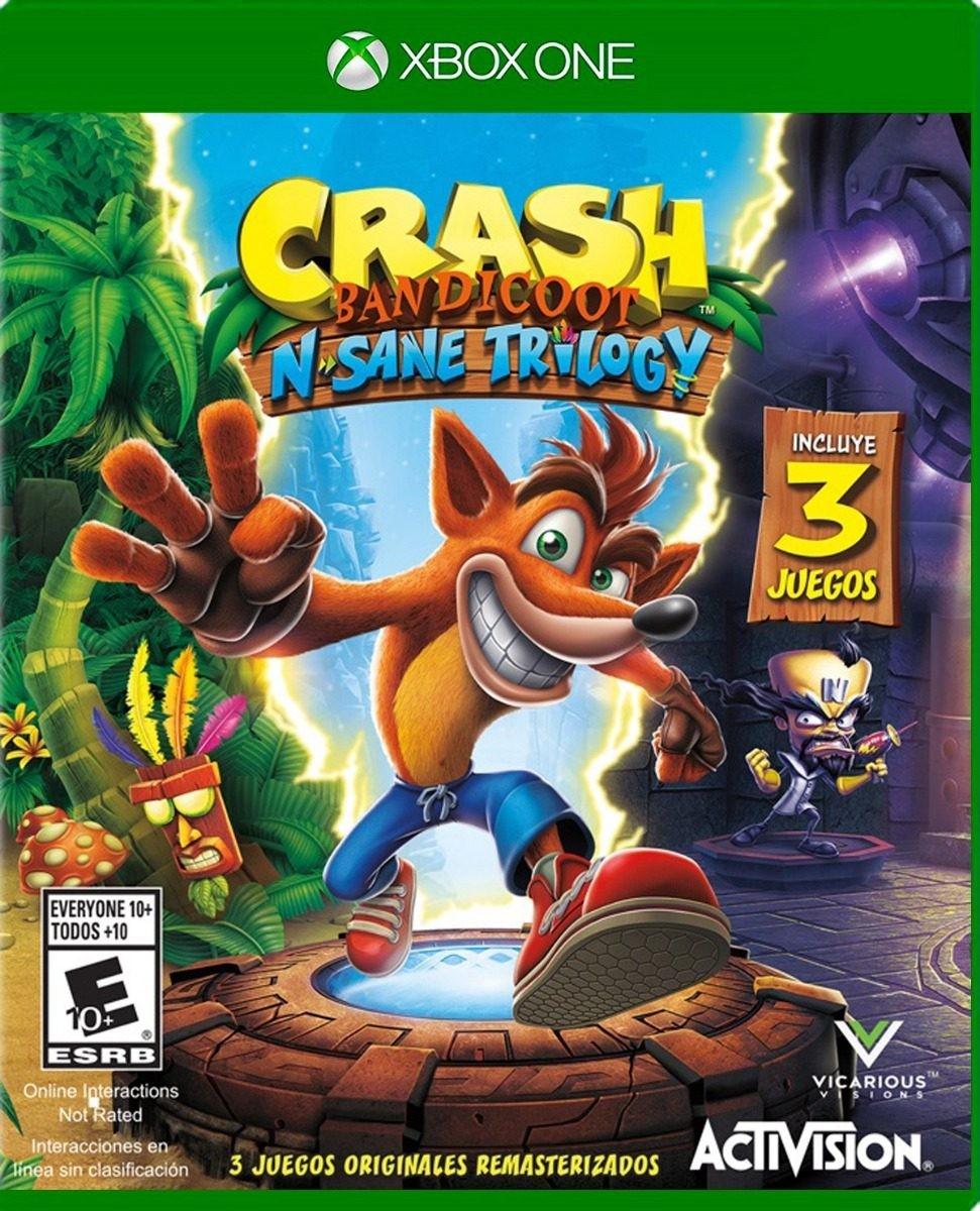 HEB en línea: Crash Bandicoot N Sane Trilogy FÍSICO Xbox One