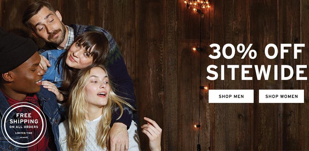 Levi's online 30% de descuento y envio gratis.
