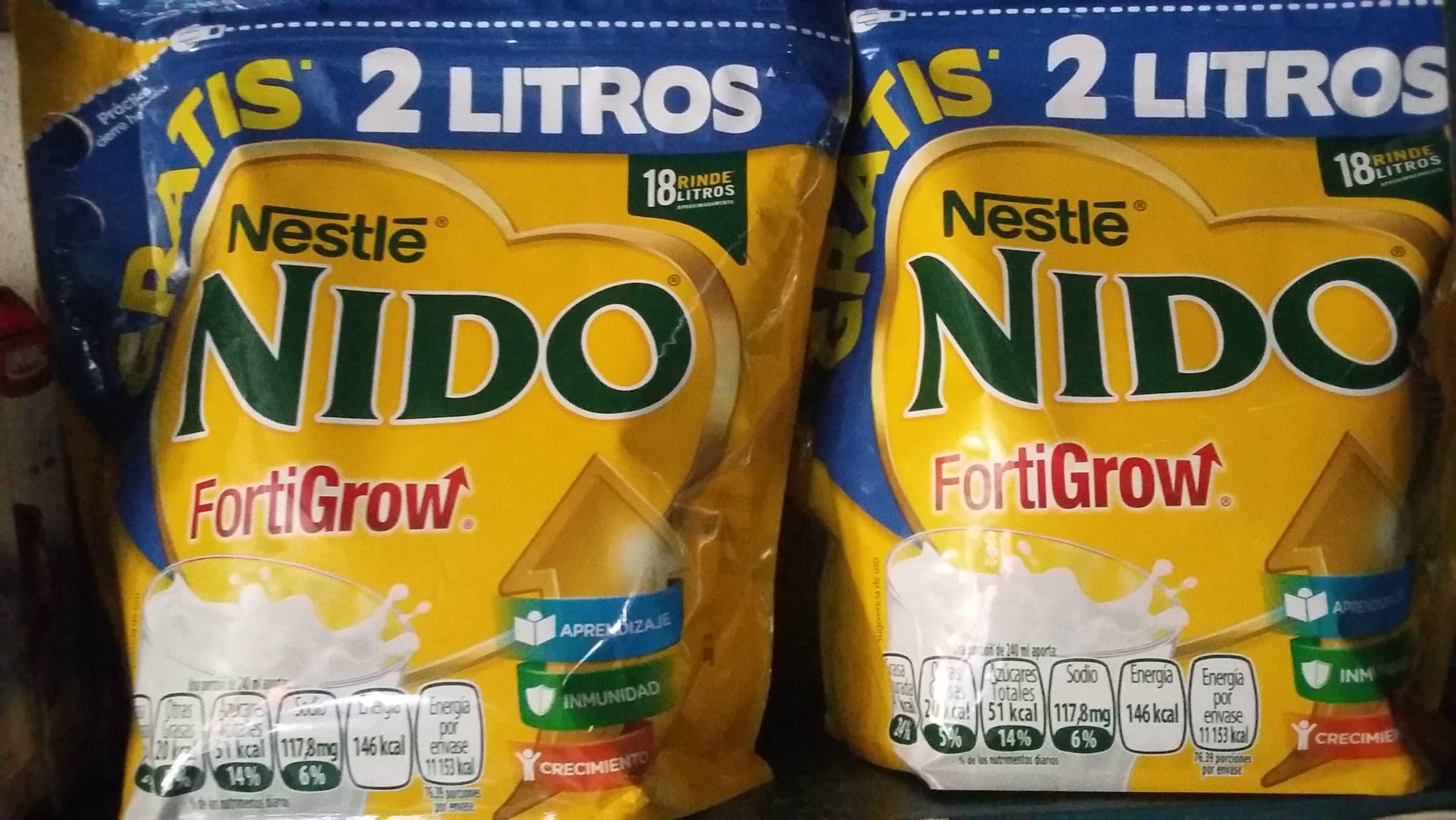 Soriana Mercado: Leche Nido Forti Grow 2,2 kg