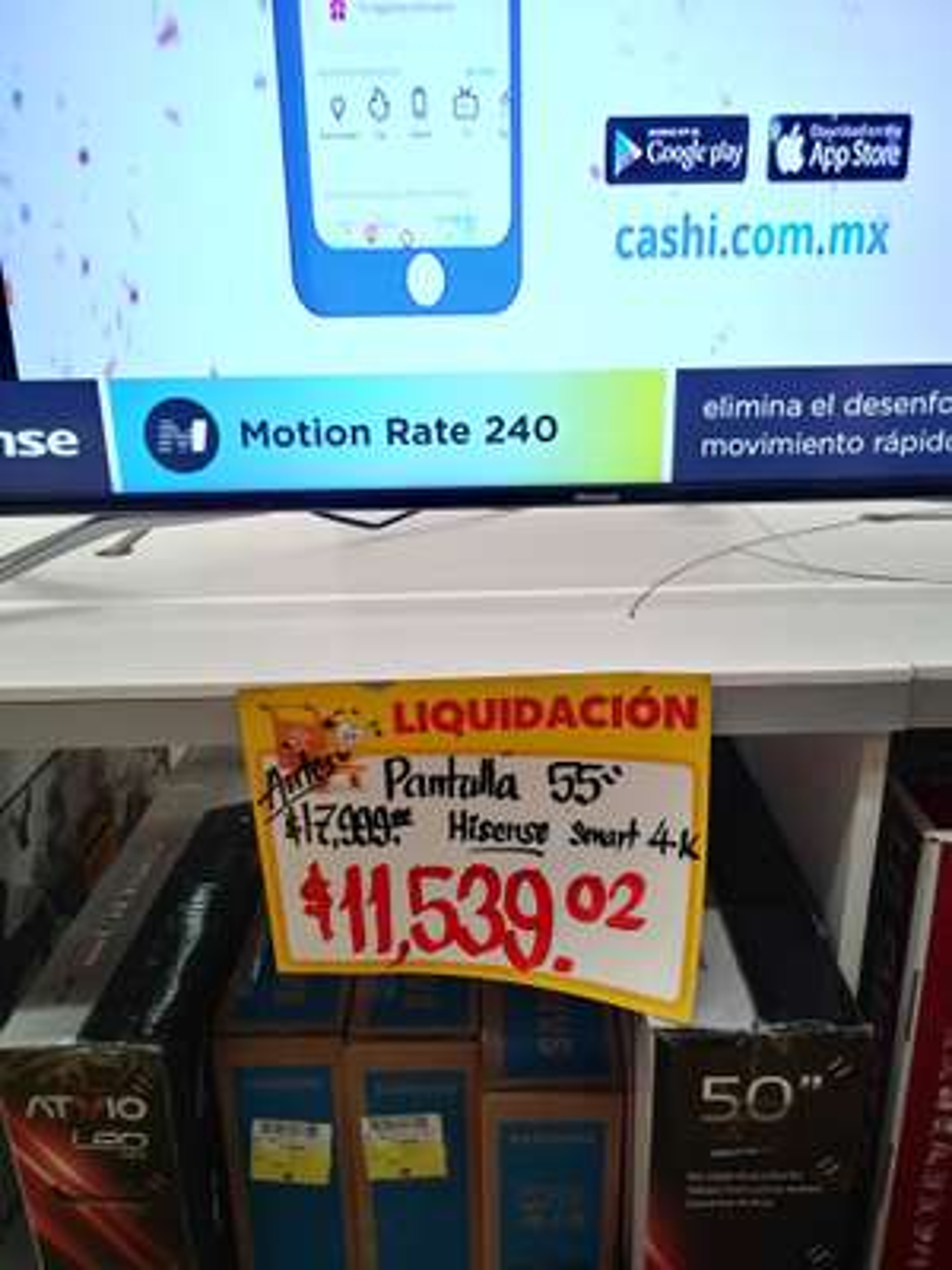 "Walmart: Smart TV Hisense 55"" 4k Uled 55H9E Plus"