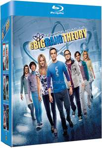 Cyber Monday Amazon México: La Teoría del Big Bang, Temporadas 1-6 [Blu-ray] $559
