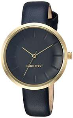 Amazon: Nine West NW2112NVNV Reloj Análogo para Mujer, color Azul