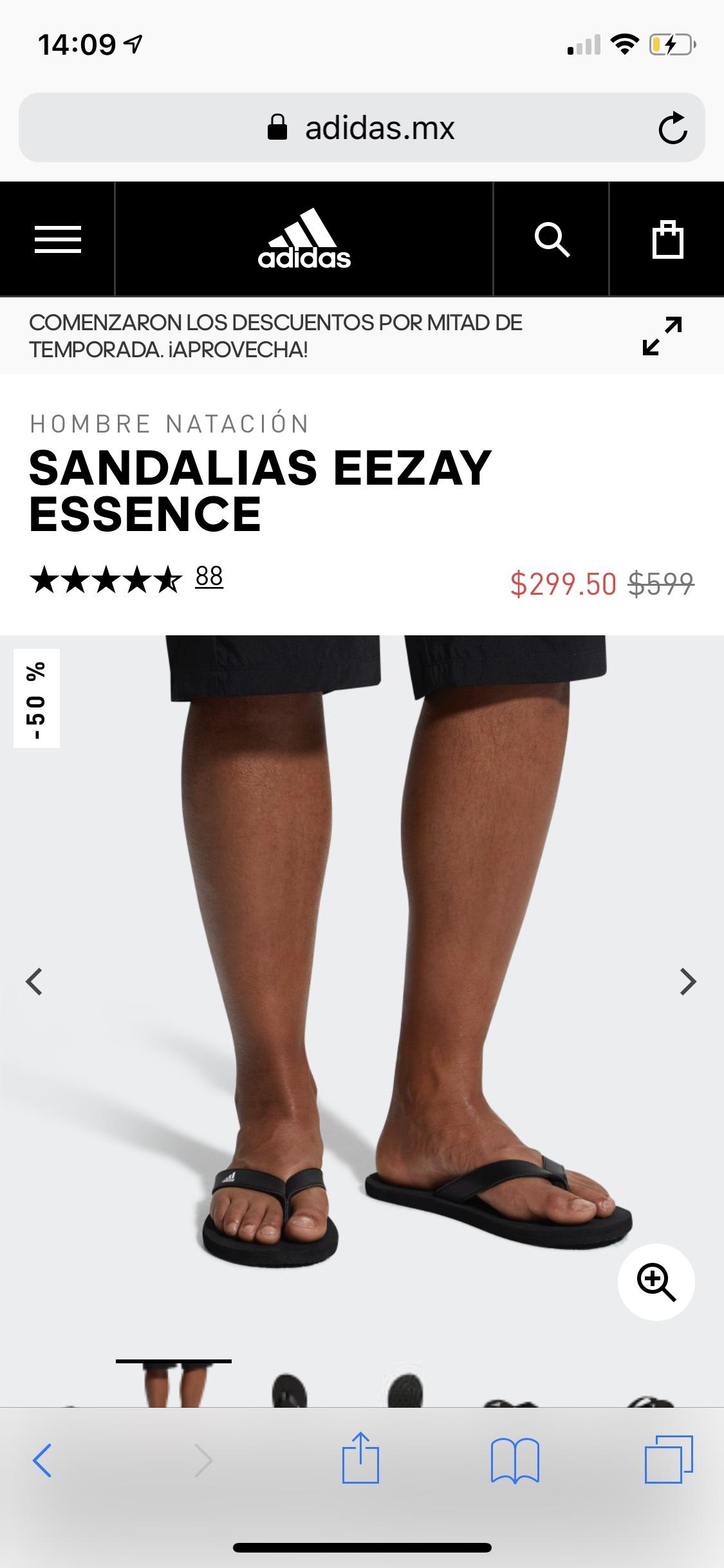 Adidas: Sandalias Adidas