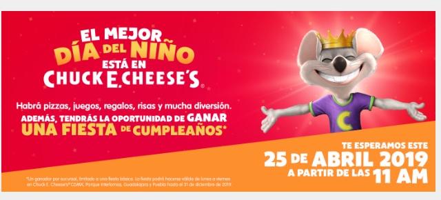 Chuck E. Chesee's : Día del Niño