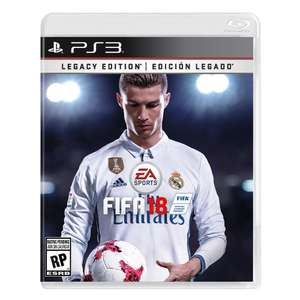 Walmart: Fifa 18 Legacy Edition PlayStation 3