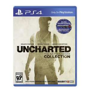 LINIO: UNCHARTED: The Nathan Drake Collection PS4 $699 envío gratis con Plus