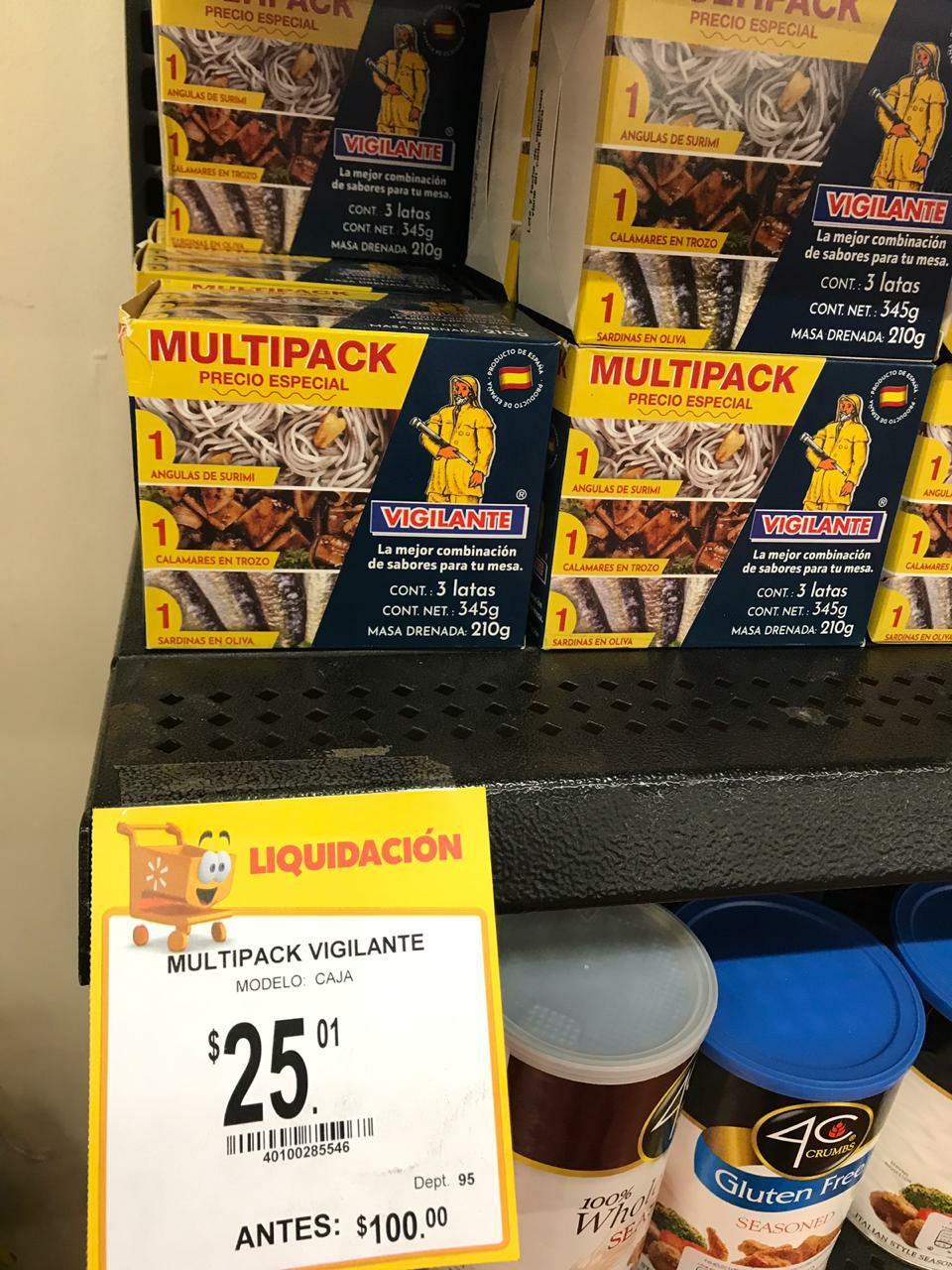Walmart: MultiPack vigilante