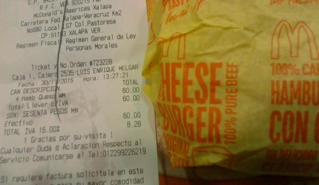 McDonald's : Menú Especial Estudiantes.