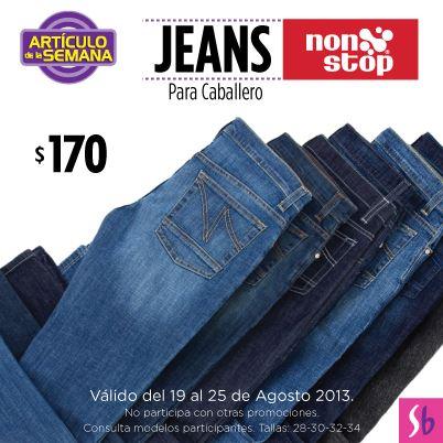 Artículo de la semana Suburbia: jeans para hombre $170