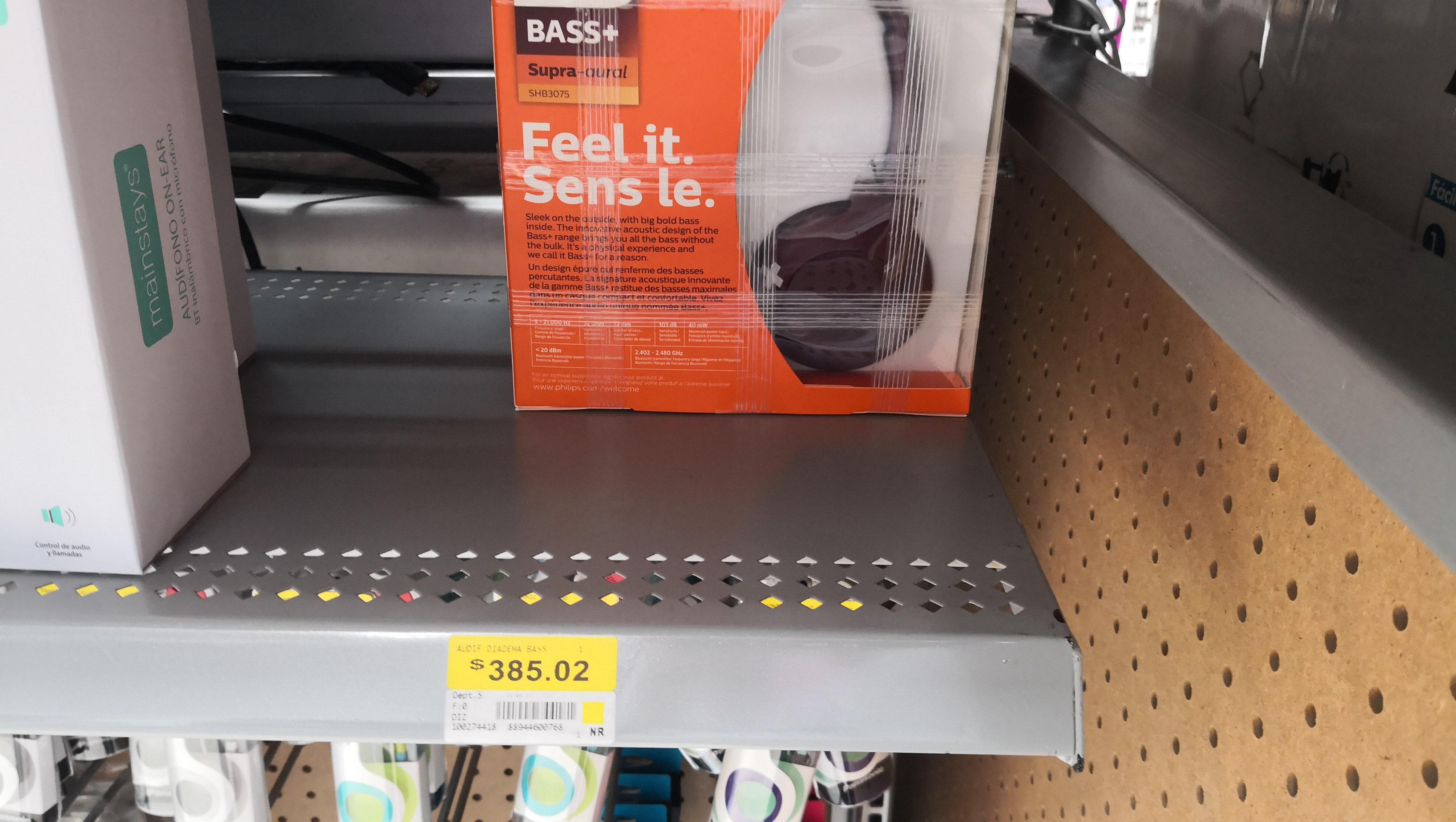 Walmart: Audífonos Bluetooth Philips