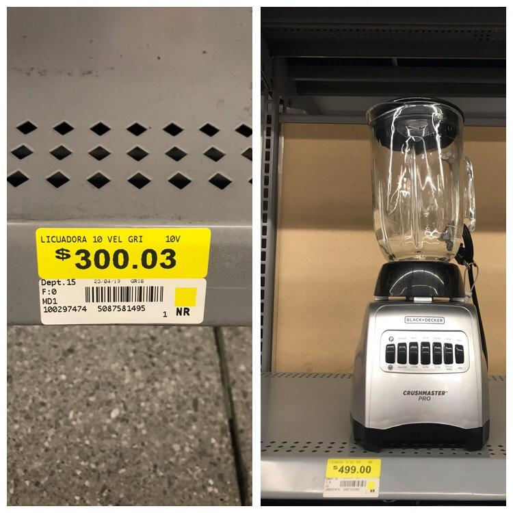 Walmart: Licuadora black decker crushmaster pro